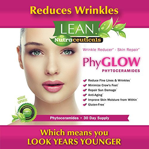 Top Rated Phytoceramides 350mg Capsules   Phy Glowtm Gluten Free All Natural Plant Derived Skin Rest