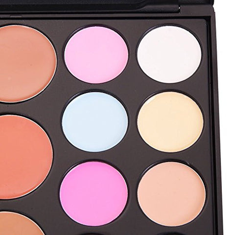 Lefv Professional Cosmetics Makeup 20 Color Concealer Camouflage Palette Contouring Highlighter
