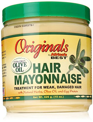 Africa's Best Organics Hair Mayonnaise, 15 Oz   Pack Of 3