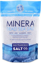 Minera Dead Sea Salt, 20lbs Coarse. 100% Pure And Certified. Natural Treatment For Psoriasis, Eczema
