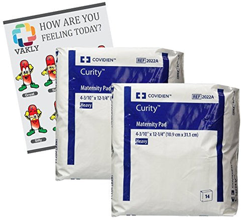 Curity Maternity Pad Heavy 4.33