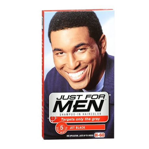 Just For Men Shampoo In Hair Color, Jet Black 60 1 Ea