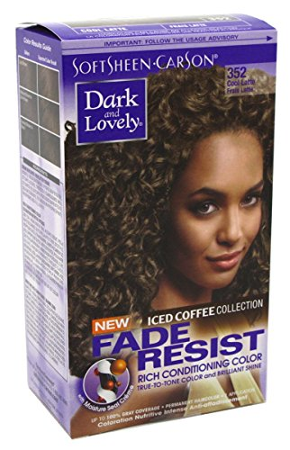 Dark & Lovely Color Ice Coffee #352 Cool Latte (2 Pack)