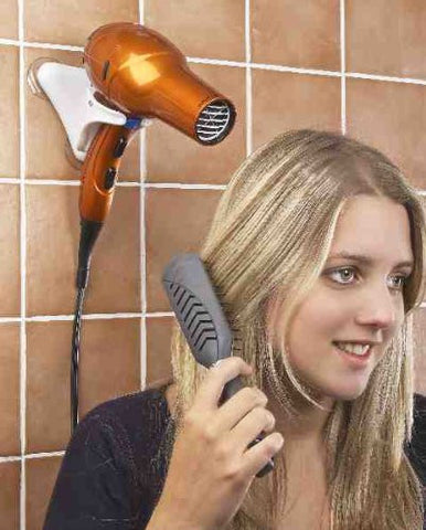 Hands Free Hair Dryer Holder   Compact For Home And Travel! By Jumbl