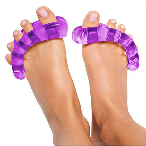 Original Yoga Toes   Small Purple: Toe Stretcher & Toe Separators. Fight Bunions, Hammer Toes, Foot P