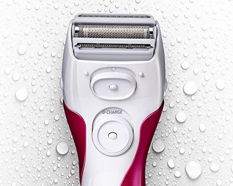 Panasonic Es2207 P Ladies Electric Shaver, 3 Blade Cordless Womens Electric Razor With Pop Up Trimme