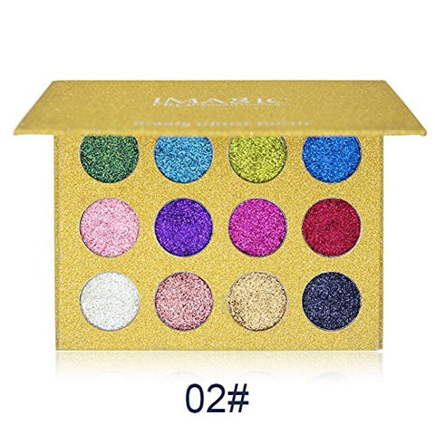 Beauty Essentials Honest Focallure 30 Colors Eyeshadow Pallete Glitter High Pigment Eye Makeup Easy To Wear Waterproof Eye Shadow To Have A Unique National Style Eye Shadow