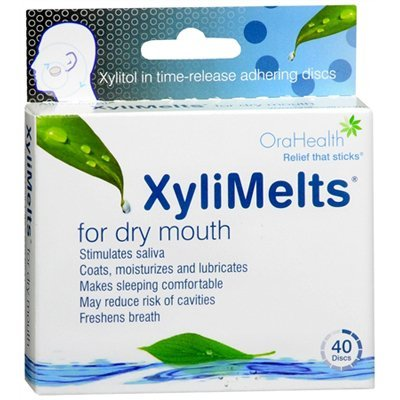 Xyli Melts Discs For Dry Mouth 40 Mints (3 Pack)