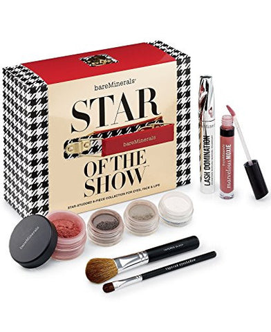 Bare Minerals Star Of The Show 8pc Collection For Eyes, Face & Lips