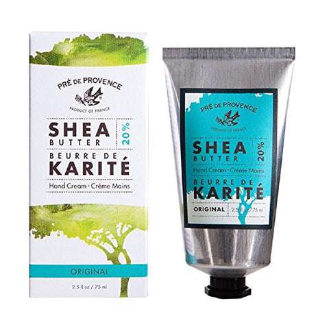 Pre De Provence 20% Natural Shea Butter Hand Cream, For Repairing, Soothing, Moisturizing Dry Skin,