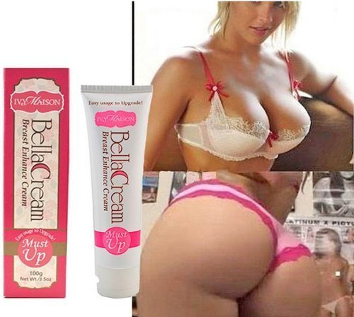 Japan 100gram 3 Cup Size Must Up Breast & Butt Enlargment Cream Pueraria Mirifica (3 Tubes 100g)