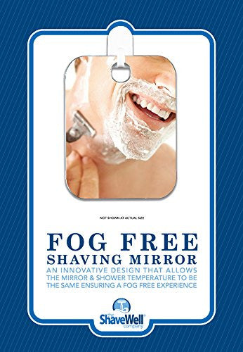 The Shave Well Company A Truly Fog Free Shower Shave Mirror. Truly Fogless By Design. Will Not Fall