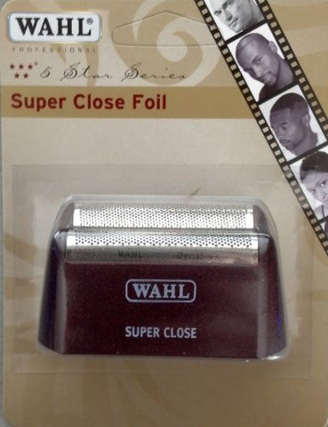 Wahl Professional Five Star Series #7031 400 Replacement Foil Assembly  Red & Silver  Super Close