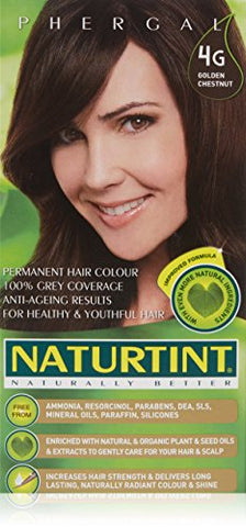 4 G, Golden Chestnut Naturtint Permanent Hair Color