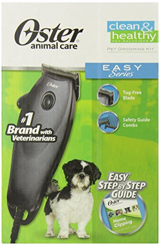 Oster Animal Care 078588 Easy Series Pet Clippers Grooming Kit