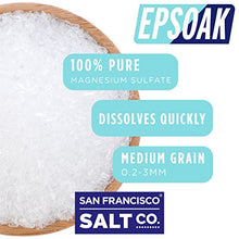 Epsoak Epsom Salt 19.75 Lbs   100% Pure Magnesium Sulfate, Made In Usa