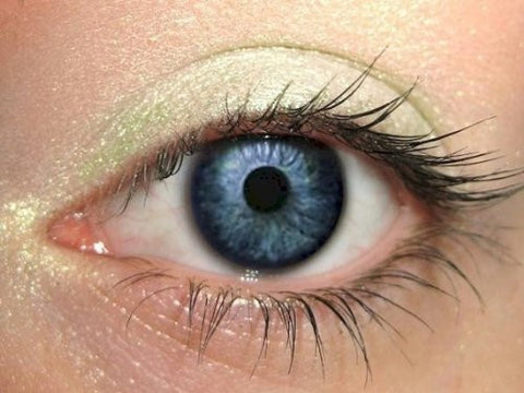 Green Duochrome Special Effects Pure Mineral Eyeshadow  100% Pure All Natural Mineral Makeup