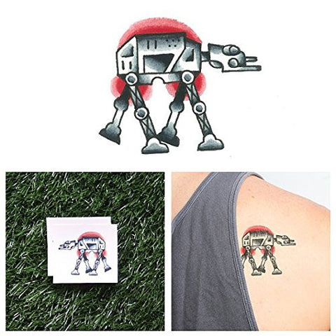 Tattify At At Temporary Tattoo   Walkabout (Set Of 2)   Other Styles Available   Fashionable Tempora