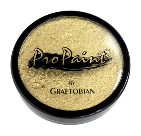 Graftobian Pro Paint Metallic Gilded Gold 1 Ounce
