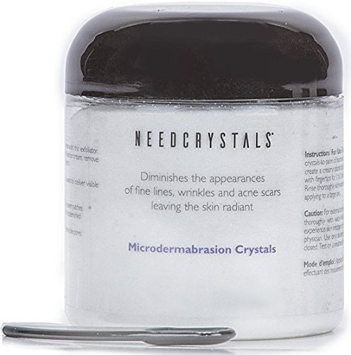 Need Crystals Microdermabrasion Crystals (8 Oz, 120 Grit)