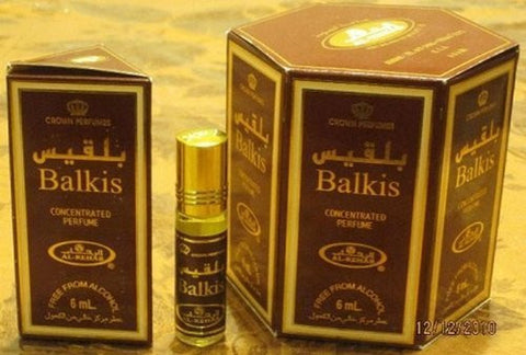 Balkis   6ml (.2oz) Roll On Perfume Oil By Al Rehab (Crown Perfumes) (Box Of 6)