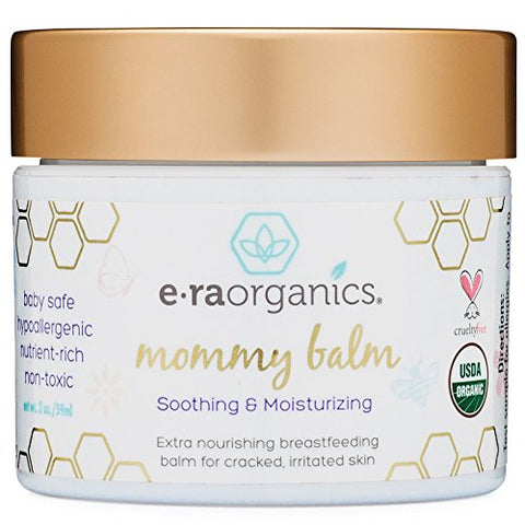Soothing Nipple Cream For Breastfeeding Moms 100% Natural, Usda Certified Organic Healing Balm For C