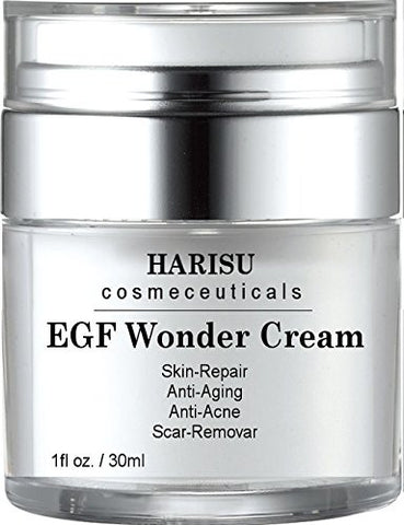 Harisu Cosmeceutical's Egf Wonder Cream   Helps Get Rid Of Acne Scars While Hydrating & Regenerating