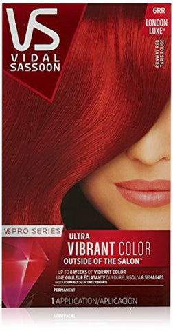 Vidal Sassoon Pro Series, 6 Rr Runway Red, 1 Count