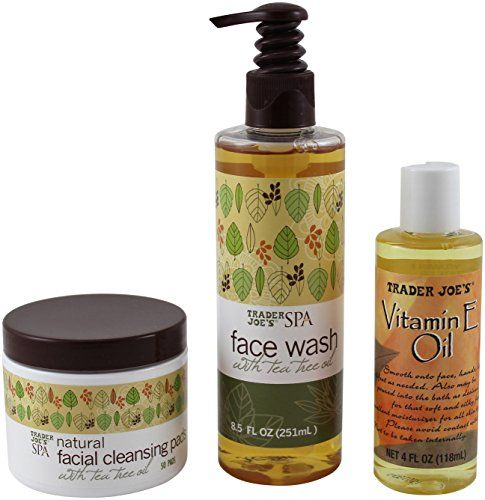 trader joes spa face wash with tea tree oil and pure vitamin e oil ninth avenue. Black Bedroom Furniture Sets. Home Design Ideas
