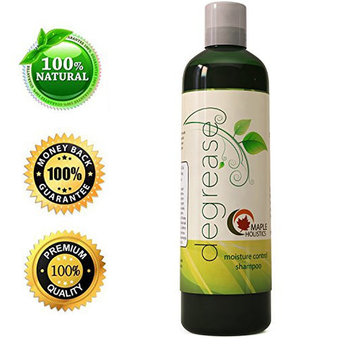 Shampoo For Oily Hair & Oily Scalp   Natural Dandruff Treatment For Women & Men   Hair Loss Products