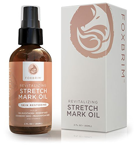 Revitalizing Stretch Mark Oil - Stretch Mark Removal and Prevention - Improve Scars & Cellulite - Wi