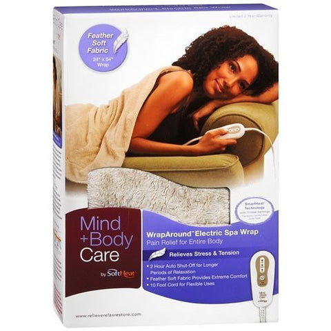 Mind + Body Care By Softheat Wrap Around Electric Spa Wrap