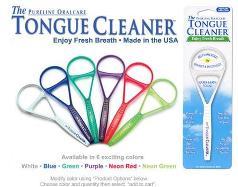 Tongue Cleaner 1 Count (Varied Colors)