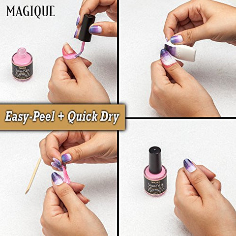 Nail Art Liquid Latex Barrier   Simply Peel Off Liquid Tape   Mess Free Mani & Pedi   Cuticle Guard