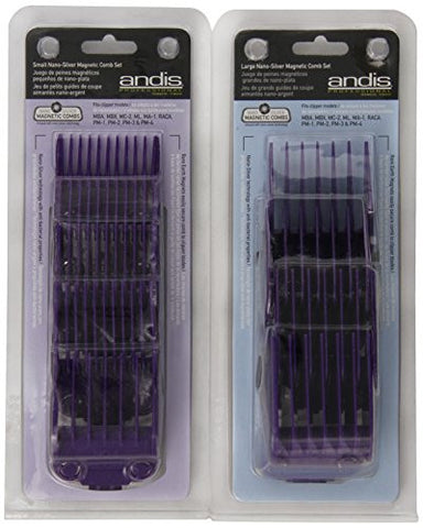 Andis Andismagnetic Comb Combo, Small And Large