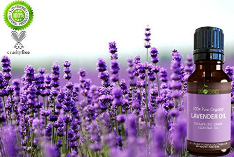 Lavender Essential Oil By Sky Organics (1oz) 100% Pure Therapeutic French Lavender Oil For Diffuser,