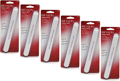 Revlon Shape 'N' Buff Nail File 1 Ea (Pack Of 3)