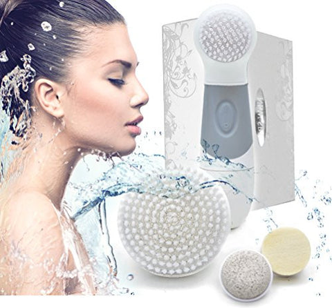 Face And Body Dermabrasion Cleansing Brush Kit