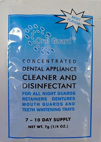 Oral Guard Dental Appliance Cleaner And Disinfectant For All Night Guards, Retainers And Dentures. 6