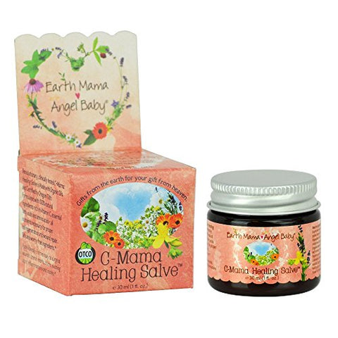 Earth Mama Organic Skin & Scar Balm For C Section Scars And Stretch Marks, 1 Fluid Ounce (2 Pack)