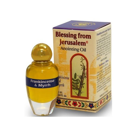 Ein Gedi Frankincense And Myrrh Anointing Oil With Biblical Spices (10ml)