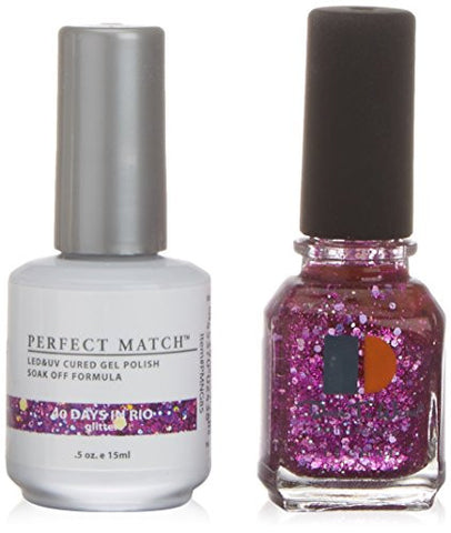 Lechat Perfect Match Nail Polish, 40 Days In Rio, 0.500 Ounce