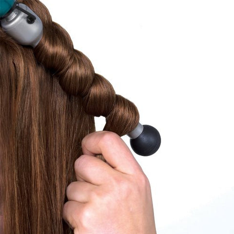 Bed Head Rock N' Roller Curling Wand For Tousled Waves And Texture, Regular Barrel