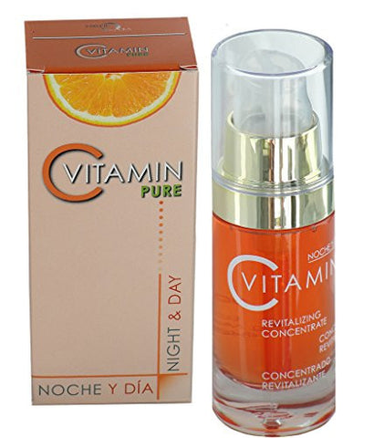 Noche Y Dia Vitamin C Serum   Daily Anti Aging Formula For Face & Skin   Brighten & Even Skin Tone