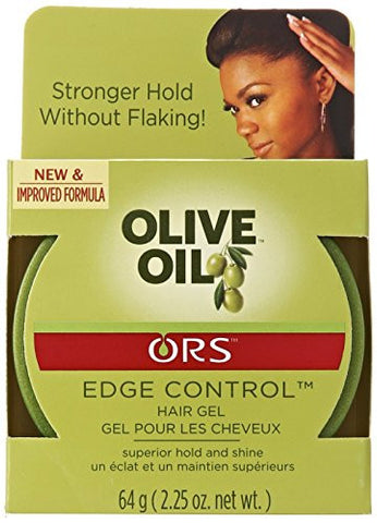 Organic Root Stimulator Olive Oil Edge Control Gel, 2.25 Oz (Pack Of 4)