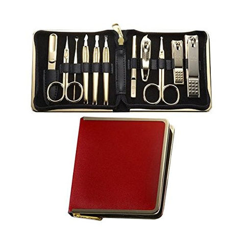 Three Seven (777) Travel Manicure Grooming Kit Nail Clipper Set (11 P Cs, 950 Rg), Made In Korea, Sinc