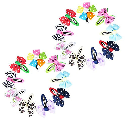 Hair Accessories Strict 40pcs Baby Hair Clips Girls Kids Flowers Hair Clip Bow Hairpin Alligator Clips Delicacies Loved By All