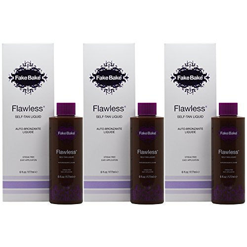 Fake Bake Flawless Self Tanning Liquid Spray 6 Oz (Pack Of 3)