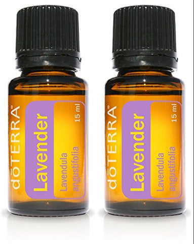 Do Terra Lavender Essential Oil   15 Ml   2 Pack