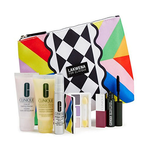 Clinique 2016 Spring 7 Pcs Skin Care & Makeup Gift Set (A $70 Value)    Color Of Chic